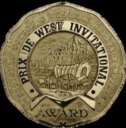 Prix de West award National Cowboy & Western Heritage Museum Andrew Peters