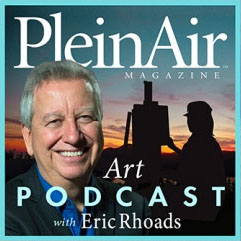 Plein Air Magazine Ralph Oberg podcast with Eric Rhoads