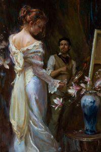 Daniel Gerhartz To Capture Beauty figurative painting