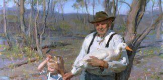 Daniel Gerhartz Winter Into Spring figurative painter