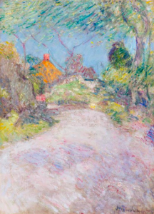 John Henry Twachtman The Back Road oil painting
