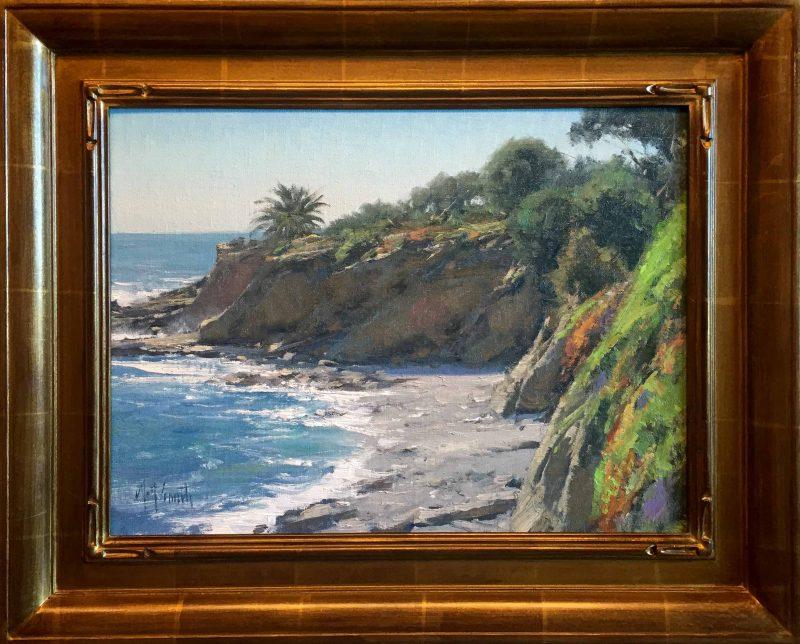 matt smith laguna beach seascape beach ocean oil painting