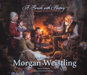 Morgan Weistling A brush with history figurative oil painting book