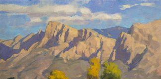 Phil Starke Pusch Ridge western landscape oil painting