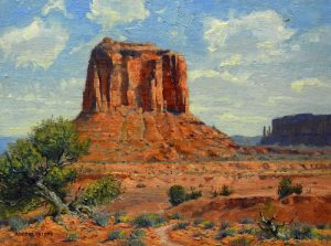 robert peters monument valley majesty landscape oil painting western