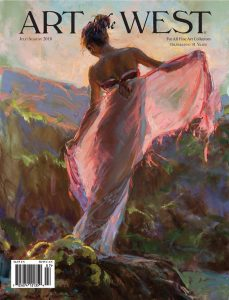 art of the west magazine daniel gerhartz figurative western figure cowboy native american indian cover image