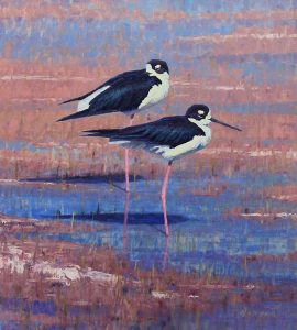 william alther elegance on the flats oil