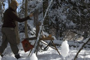 daniel gerhartz painting on location snow artist outdoor painting plein air snow