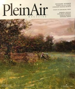 plein air magazine richard schmid landscape oil painting