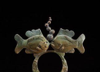 Tim Cherry Unity sunfish fish contemporary wildlife bronze sculpture