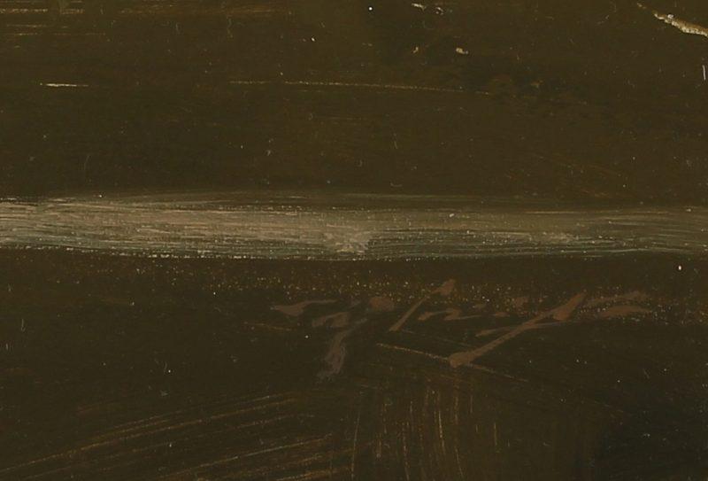 hsin yao tseng sunset on sutter street san francisco cityscape oil painting