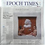 marina dieul epoch times newspaper article art artist