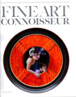 marina dieul fine art connoisseur magazine cover