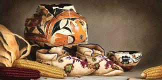 Gayle Nason Kindred Spirit original Native American still life oil painting