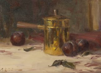 "John Encinias - ""Brass Pot & Plums"""