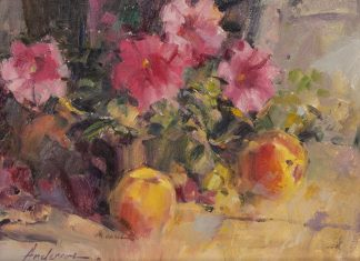 "Carolyn Anderson - ""Fruit And Flowers"""