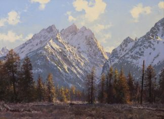 "Francois Koch - ""The Teton Range"""