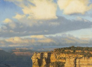 "John Cox - ""Canyon Sunset"""