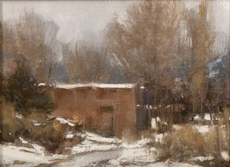 "Michael Lynch - ""Winter - New Mexico"""