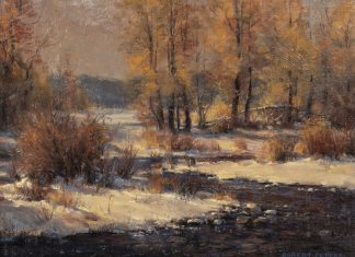 "Robert Peters - ""The First Snow"""