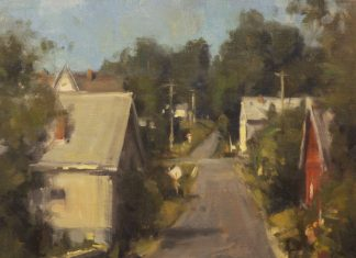 "Scott Christensen - ""New England Town"""