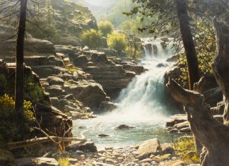 """Bill Hughes - """"Cougar Falls"""""""