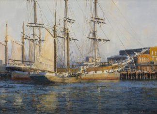 "David Thimgan - ""Vallejo Street Wharf"