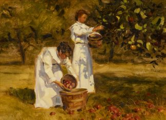 "Tom Browning - ""Fall Harvest Study"""