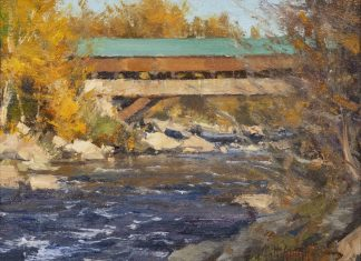 "Matt Smith - ""Covered Bridge - Jackson New Hampshire"""