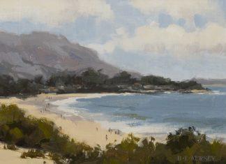 "Laurie Kersey - ""Carmel Beach"""