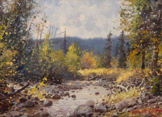 """Francois Koch - """"Sunlit Stream"""""""