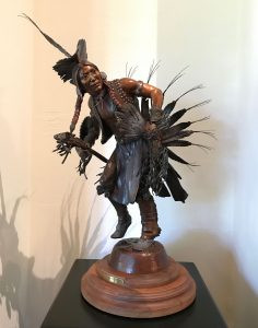Susan Kliewer Proud Traditions Native American dance western bronze sculpture