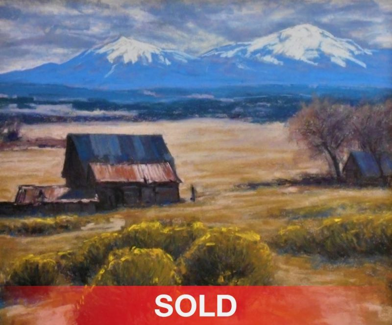 Lorenzo Chavez Ranch At The Base Of the Spanish Peaks of Colrado mountains farm ranch building sold