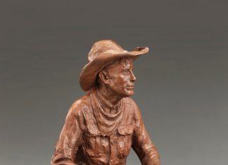 Jason Scull Cow Camp Cafe cowboy range food western bronze sculpture