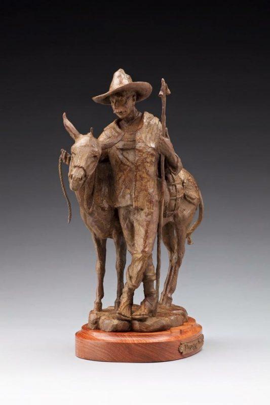 Jason Scull Tlaquepaque Traders cowboy vaquero western bronze sculpture