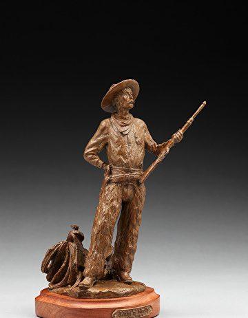 Jason Scull Wild N Wooly cowboy vaquero western bronze sculpture