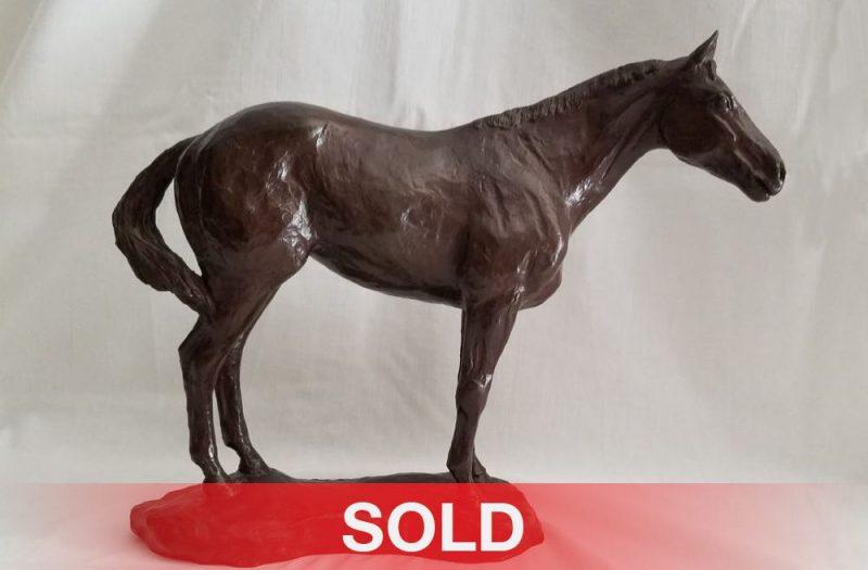 Slim Pickens Red Cent horse bronze sculpture western