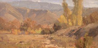 Jim Wodark Irvine Wash landscape oil painting