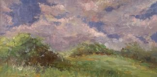 Miguel Malagon Chicago Field Ohio landscape oil painting