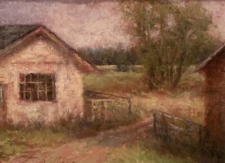Todd Williams Country Farm ranch pasture landscape oil painting
