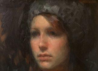 Ignat Ignatov portrait woman oil painting